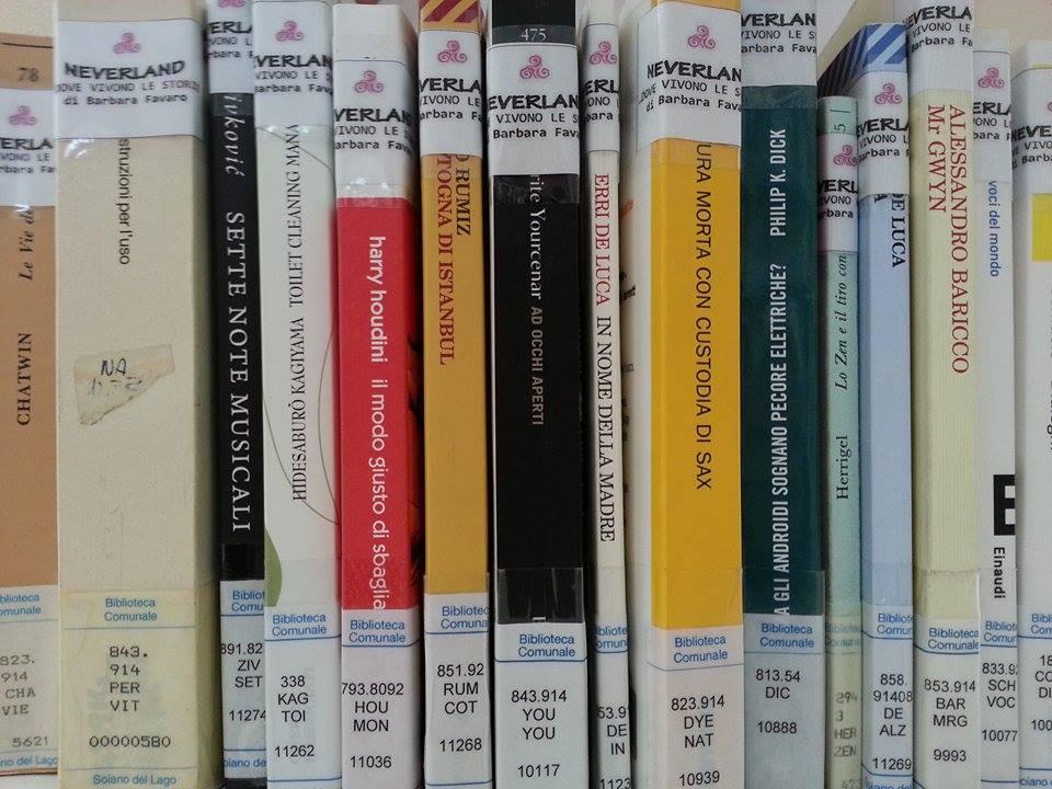 NEVERLAND  alla Biblioteca La Castagna Amara