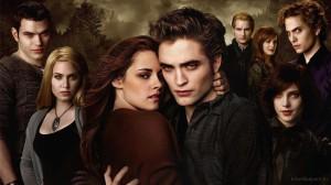 """Il cast della saga di """"Twilight"""" [molto più conosciuta del romanzo]"""